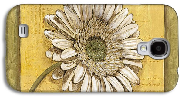 Botanical Galaxy S4 Cases - Bohemian Daisy 1 Galaxy S4 Case by Debbie DeWitt