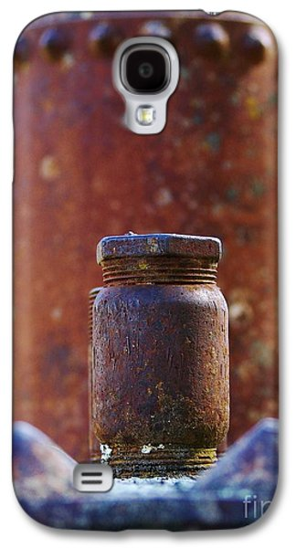 Machinery Galaxy S4 Cases - Bolted on Galaxy S4 Case by Lorles Lifestyles
