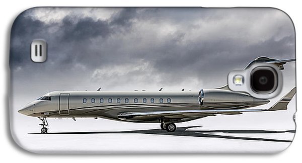 Bombardier Global 5000 Galaxy S4 Case by Douglas Pittman