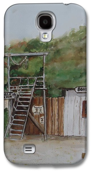 Jail Paintings Galaxy S4 Cases - Bondad Colorado Jail Galaxy S4 Case by Charme Curtin