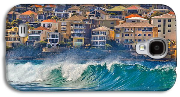 Bondi Waves Galaxy S4 Case by Az Jackson