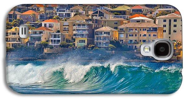 Beach Photos Galaxy S4 Cases - Bondi Waves Galaxy S4 Case by Az Jackson