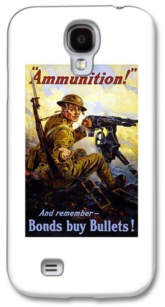 Ww1 Galaxy S4 Cases - Bonds Buy Bullets Galaxy S4 Case by War Is Hell Store