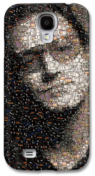 Bono U2 Albums Mosaic Galaxy S4 Case by Paul Van Scott