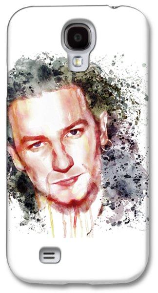 Bono Vox Galaxy S4 Case by Marian Voicu