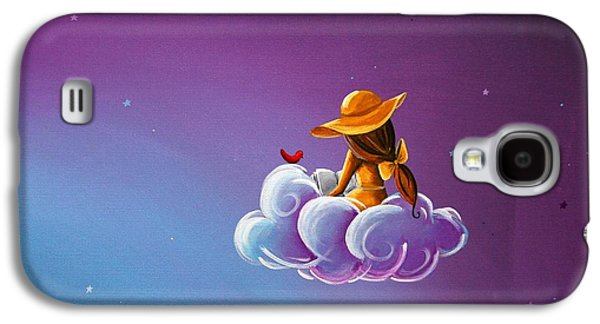 Girl Galaxy S4 Cases - Book of Dreams Galaxy S4 Case by Cindy Thornton