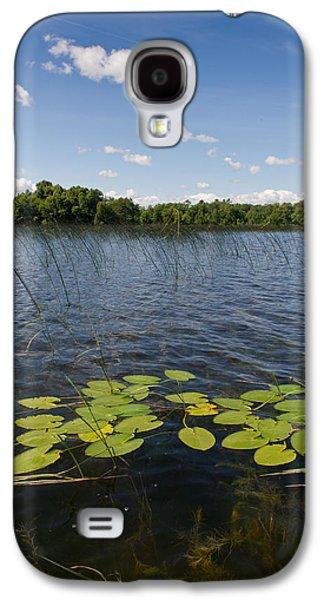 Camelot Galaxy S4 Cases - Borden Lake scene Galaxy S4 Case by Gary Eason