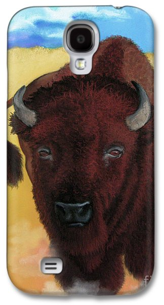Bison Pastels Galaxy S4 Cases - Born of Thunder Galaxy S4 Case by Tracy L Teeter