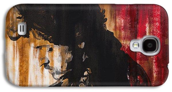 Bruce Springsteen Mixed Media Galaxy S4 Cases - Boss Galaxy S4 Case by Brad Jensen