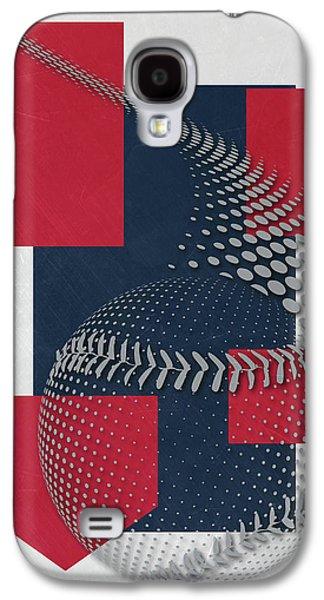 Boston Red Sox Art Galaxy S4 Case by Joe Hamilton