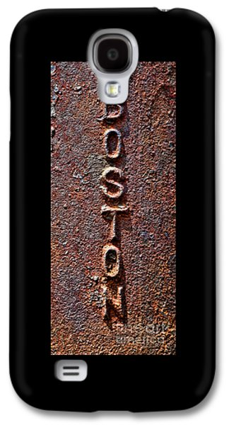 Machinery Galaxy S4 Cases - Boston Tough Galaxy S4 Case by Olivier Le Queinec