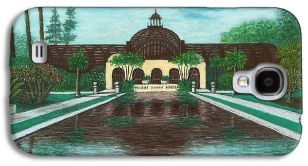 Botanical Pastels Galaxy S4 Cases - Botanical Building in Balboa Park 02 Galaxy S4 Case by Michael Heikkinen