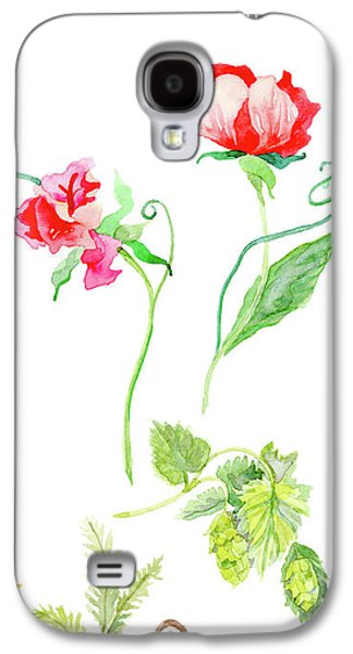 Botanical Nature - Spring Study 1 Galaxy S4 Case by Audrey Jeanne Roberts