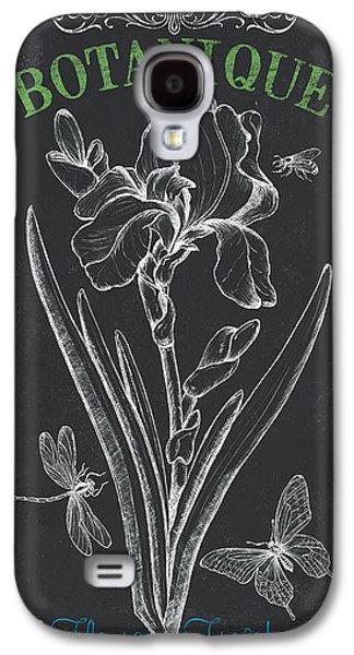 Botanical Galaxy S4 Cases - Botanique 1 Galaxy S4 Case by Debbie DeWitt