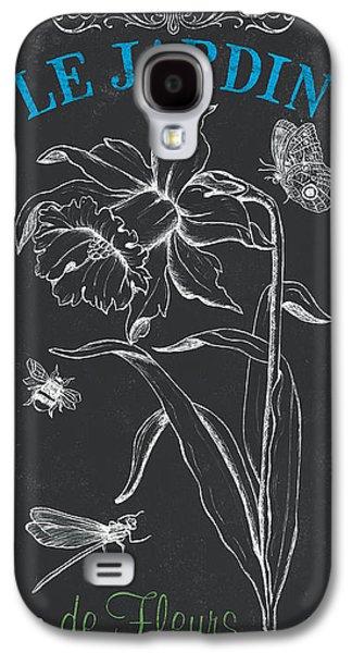 Botanical Galaxy S4 Cases - Botanique 2 Galaxy S4 Case by Debbie DeWitt