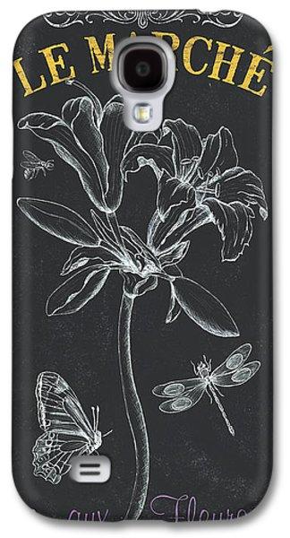 Botanical Galaxy S4 Cases - Botanique 3 Galaxy S4 Case by Debbie DeWitt