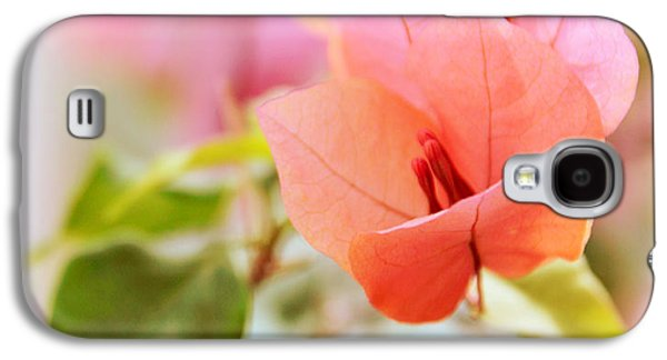 Stamen Digital Galaxy S4 Cases - Bougainvillea Whispers Galaxy S4 Case by Jessica Jenney