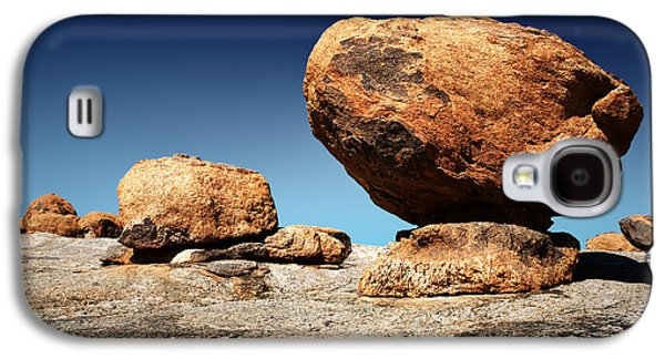 Solid Galaxy S4 Cases - Boulder on solid rock Galaxy S4 Case by Johan Swanepoel