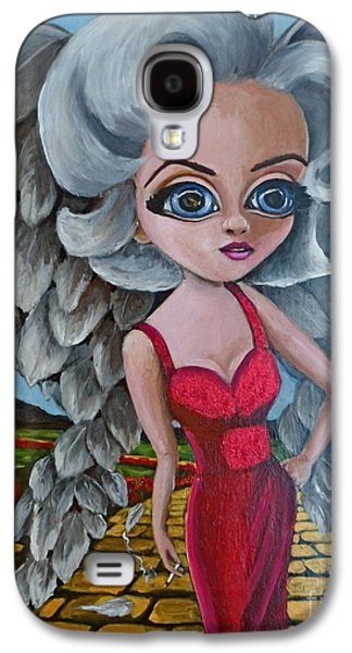 Angels Smoking Galaxy S4 Cases - Boulevard of Broken Wings Galaxy S4 Case by Bonnie Diaz