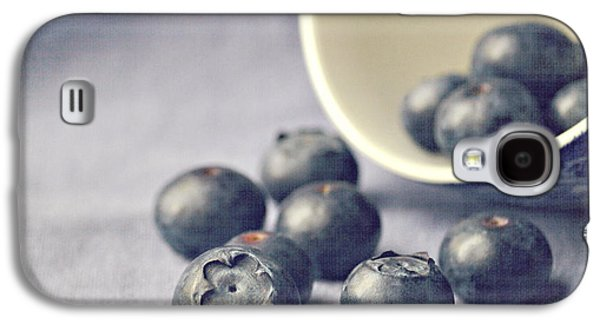 Bowl Of Blueberries Galaxy S4 Case by Lyn Randle