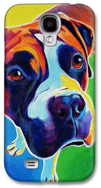 Boxer Galaxy S4 Cases - Boxer - Leo Galaxy S4 Case by Alicia VanNoy Call
