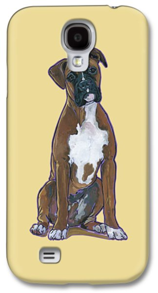 Boxer Galaxy S4 Cases - Boxer Bentley Galaxy S4 Case by Nadi Spencer
