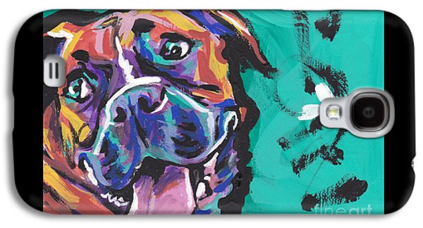 Boxer Luv Galaxy S4 Case by Lea S