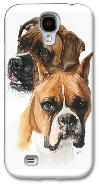 Boxer Galaxy S4 Cases - Boxers Galaxy S4 Case by Barbara Keith