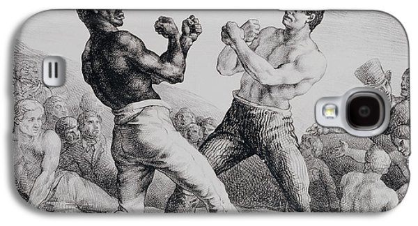 Boxers Galaxy S4 Case by Theodore Gericault