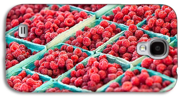 Boxes Of Raspberries Galaxy S4 Case by Todd Klassy