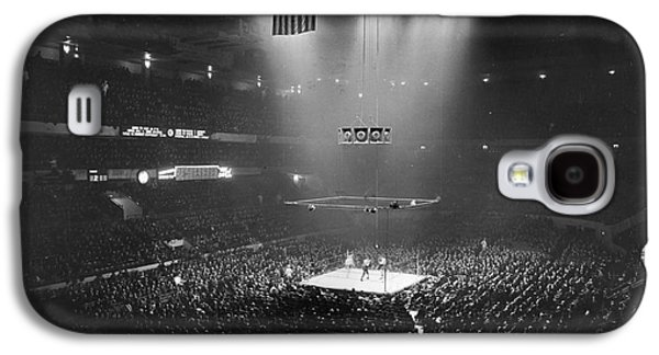 Entertainment Galaxy S4 Cases - Boxing Match, 1941 Galaxy S4 Case by Granger