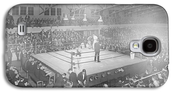 Boxing Match In 1916 Galaxy S4 Case by American School