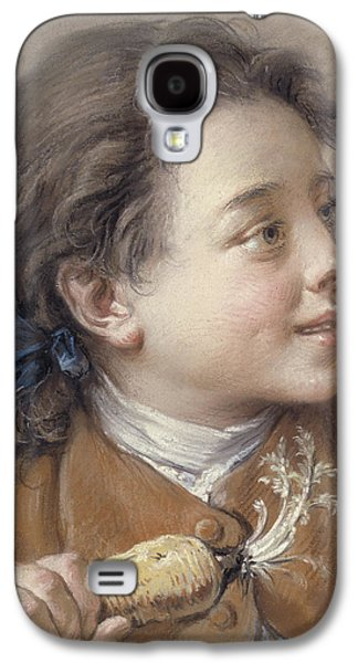 Boy With A Carrot, 1738 Galaxy S4 Case by Francois Boucher