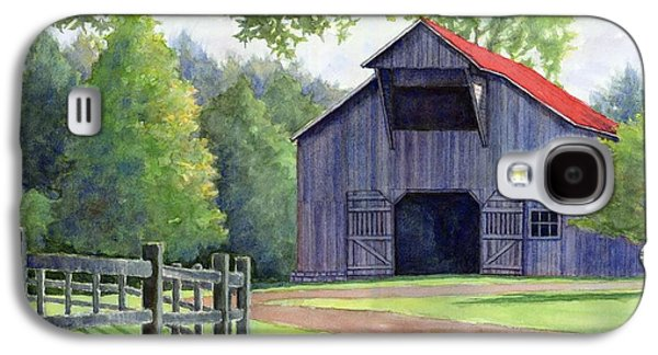 Janet King Galaxy S4 Cases - Boyd Mill Barn Galaxy S4 Case by Janet King