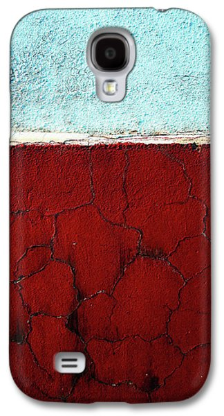 Red Abstract Pyrography Galaxy S4 Cases - Br Galaxy S4 Case by Inessa Burlak