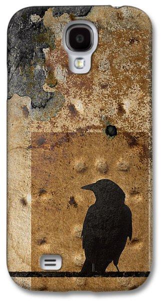 Carol Leigh Galaxy S4 Cases - Braille Crow Galaxy S4 Case by Carol Leigh