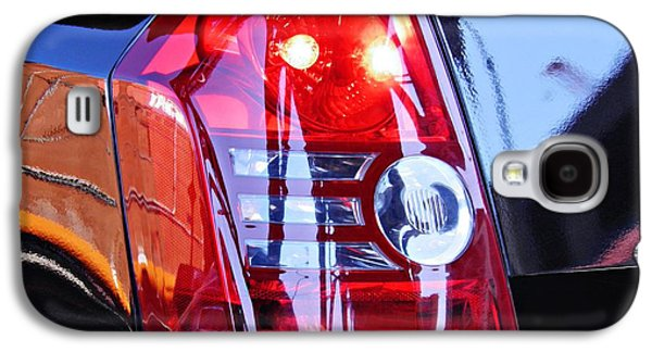 Modern Abstract Galaxy S4 Cases - Brake Light 65 Galaxy S4 Case by Sarah Loft