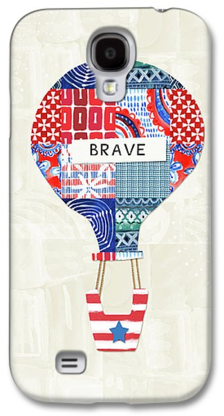 Brave Balloon- Art By Linda Woods Galaxy S4 Case by Linda Woods
