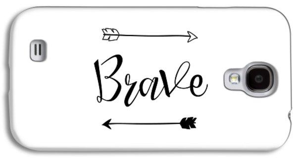 Brave Galaxy S4 Case by Nancy Ingersoll