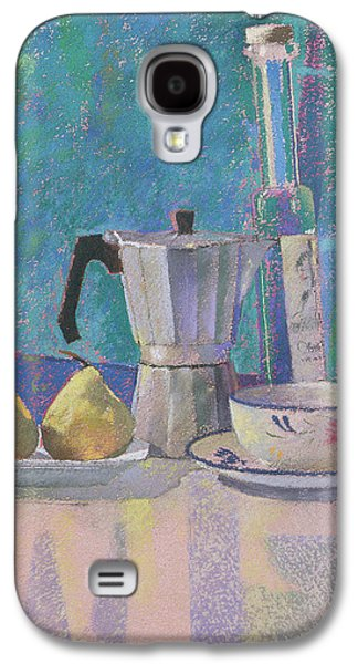 Orange Pastels Galaxy S4 Cases - Breakfast for WK Galaxy S4 Case by Simon Fletcher