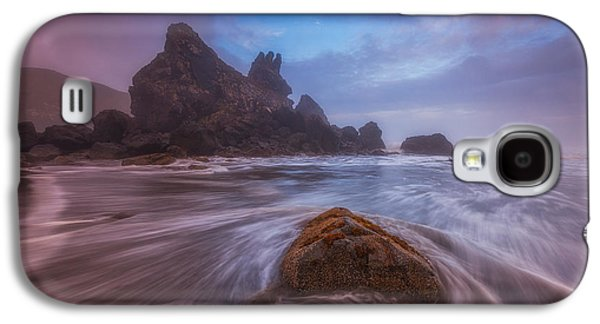 Storm Prints Photographs Galaxy S4 Cases - Breaking Up in Brookings Galaxy S4 Case by Darren  White