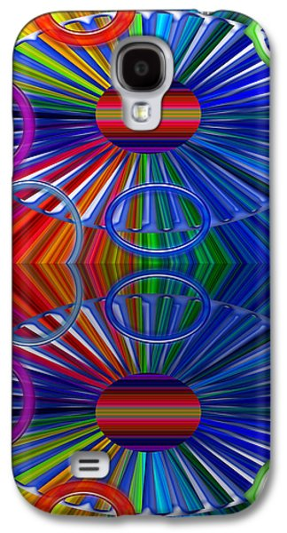 Abstract Forms Galaxy S4 Cases - Breaks Galaxy S4 Case by Tina M Wenger