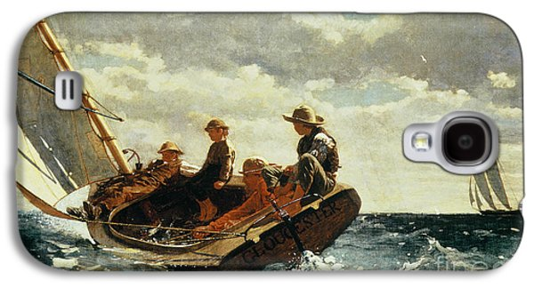 Breezing Up Galaxy S4 Case by Winslow Homer