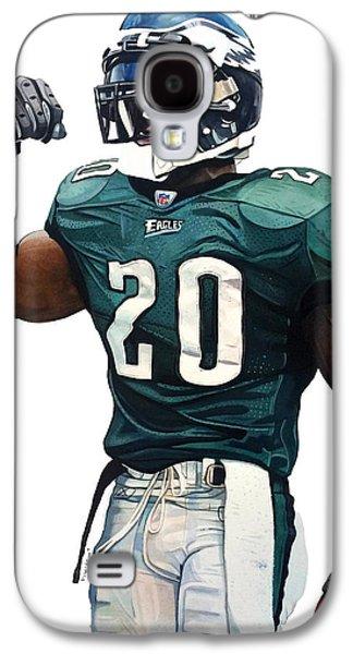 Brian Dawkins - Philadelphia Eagles Galaxy S4 Case by Michael Pattison