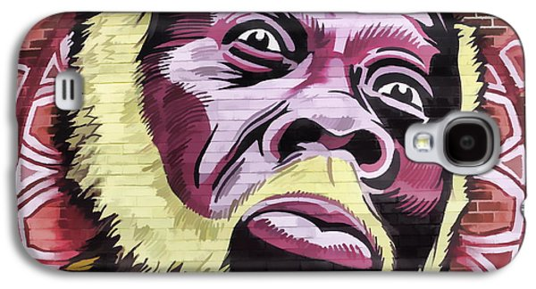 African-american Galaxy S4 Cases - Brick wall on Beale Street Galaxy S4 Case by James Hundley