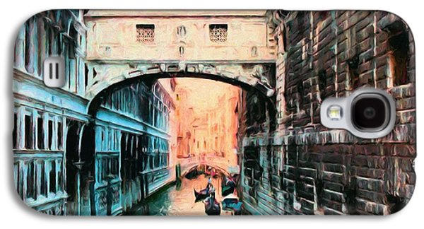 Jail Paintings Galaxy S4 Cases - Bridge of Sighs Galaxy S4 Case by Jim Buchanan