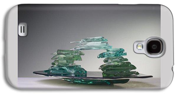 Contemporary Glass Galaxy S4 Cases - Bridge of Truth Galaxy S4 Case by Mykel Davis