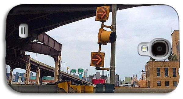 Studio Photographs Galaxy S4 Cases - Bridge Traffic Sign Galaxy S4 Case by Brigitte Louzeiro
