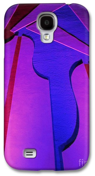 Abstractions Reliefs Galaxy S4 Cases - Bright Abstract Galaxy S4 Case by John Malone
