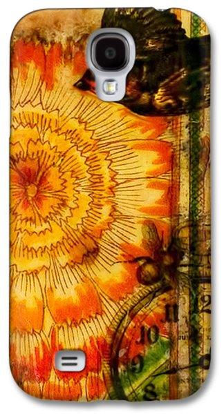 Bright Life Encaustic Galaxy S4 Case by Bellesouth Studio